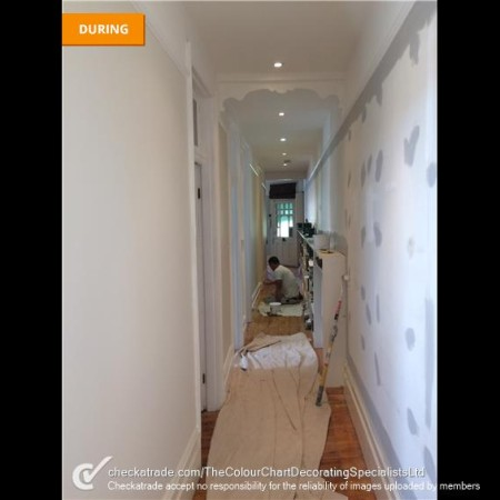 THE COLOUR CHART DECORATORS - MUSWELL HILL, NORTH LONDON