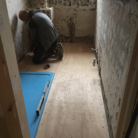 New bathroom renovation in Cascade Avenue in Muswell Hill, N10