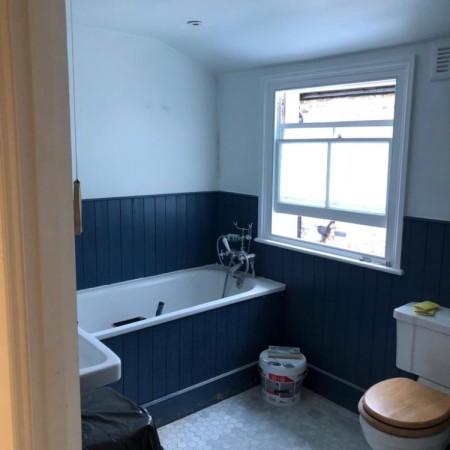 Bathroom refurbishment North London, after