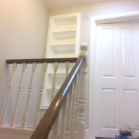 Fitted shelves, 2 new frames and doors, North London