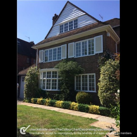 Exterior decorating & painting services in North London