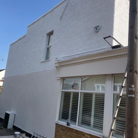Exterior property painting North London, after