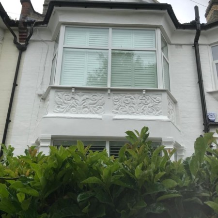 Exterior Property decoration in Queens Avenue, London, N20.