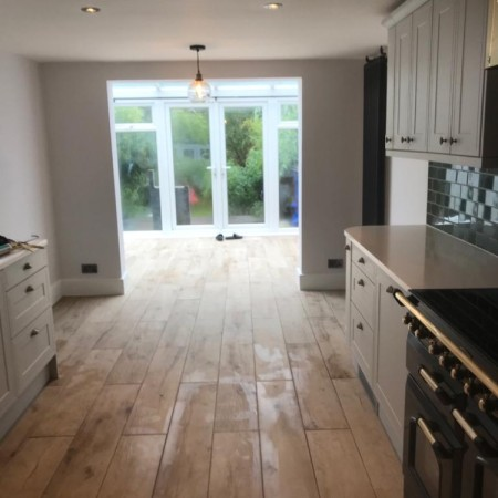 New kitchen renovation completed in 2 weeks in East Finchley, North London, N2