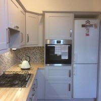 Painting a kitchen and kitchen units in Finchley N12
