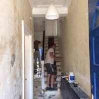 Renovation of sitting room, diner, staircase, bedroom in Turnpike Lane, N8