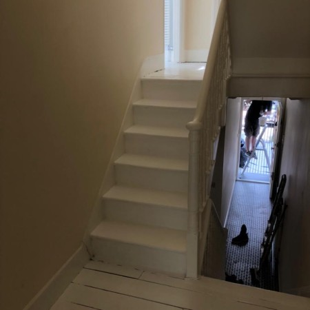 Stairs refurbishment North London, after