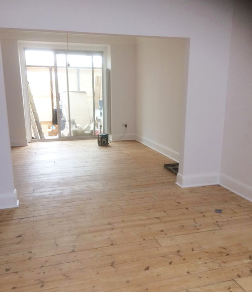 3 Bed House Renovation In Muswell Hill, North London - The Colour Chart Decorating Sepcialists