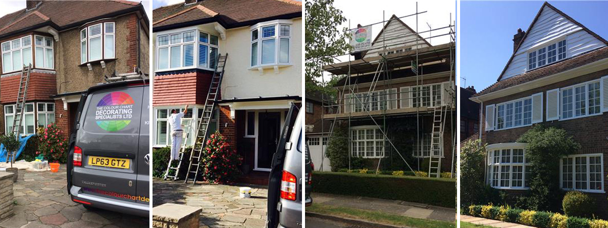Exterior Decorating Services In North London - Colour Chart Decorating