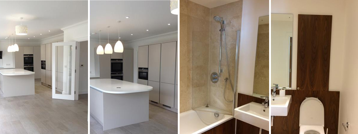 Kitchen and Bathroom Installations In North London - Colour Chart Decorating