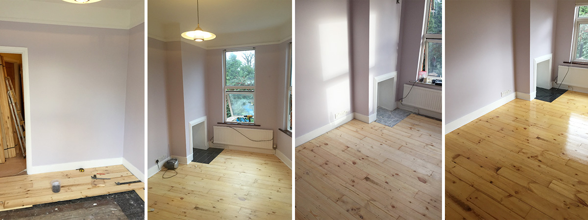 Solid Wood Flooring In North London - Colour Chart Decorating